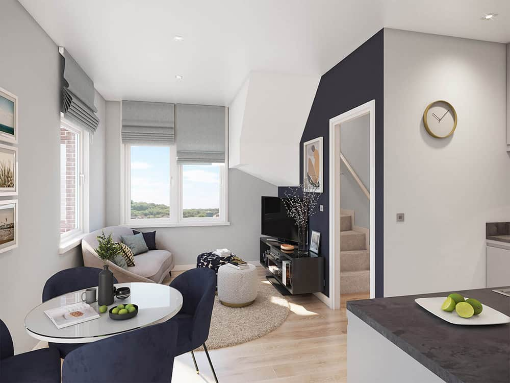 Tempus Court High Wycombe Interior: Commercial to Residential Property Conversion Apartment