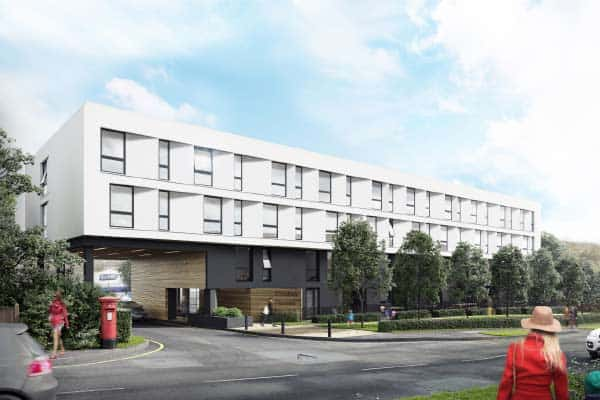 Coates House Nailsea Bristol: Ocea Converting Commercial Property in Residential