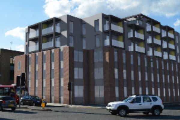 11 Queensway Ocea Commercial to Residential Property Development: Southampton City Apartments
