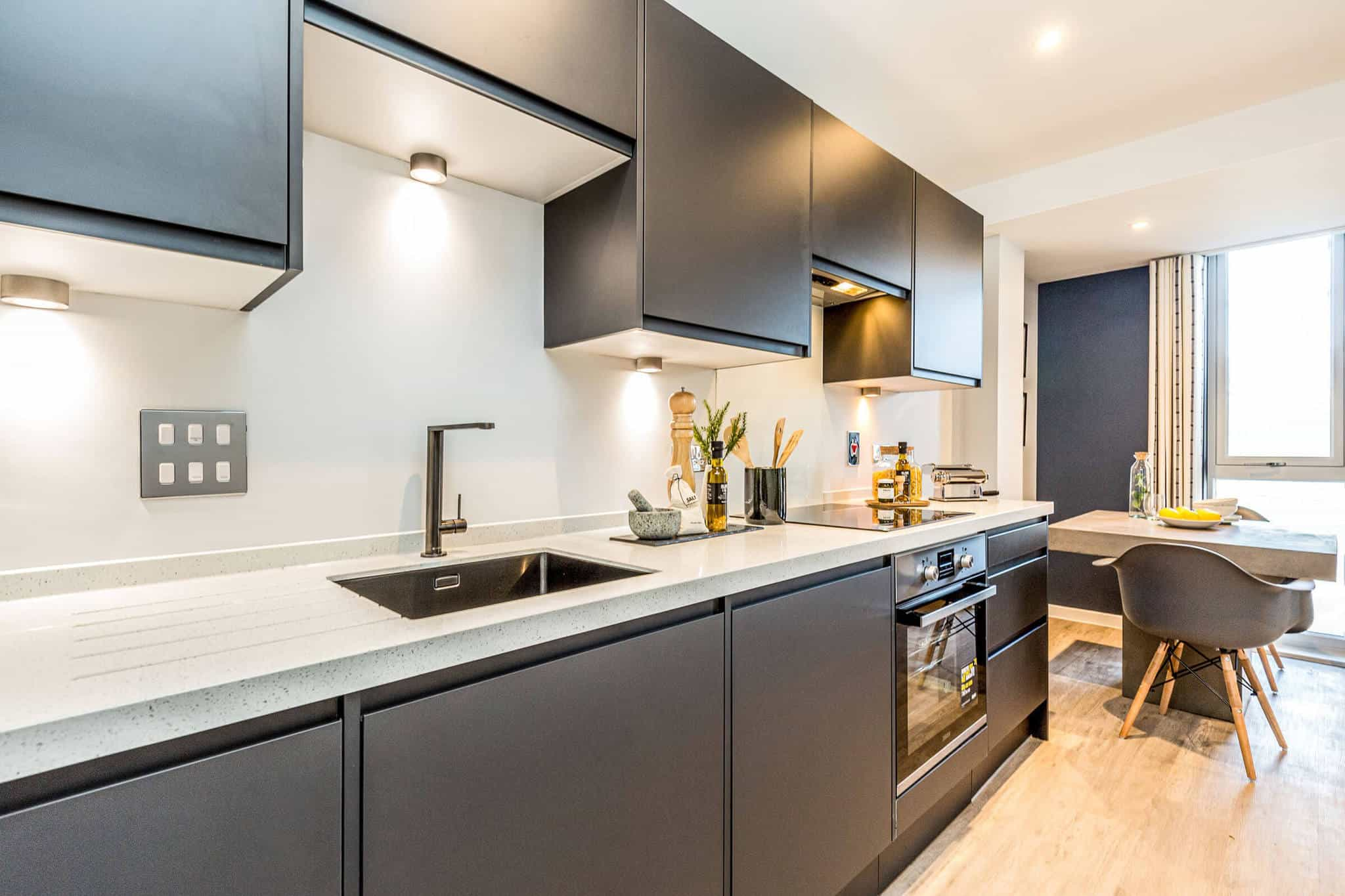 Interior Commercial to Residential Property Conversion Apartment