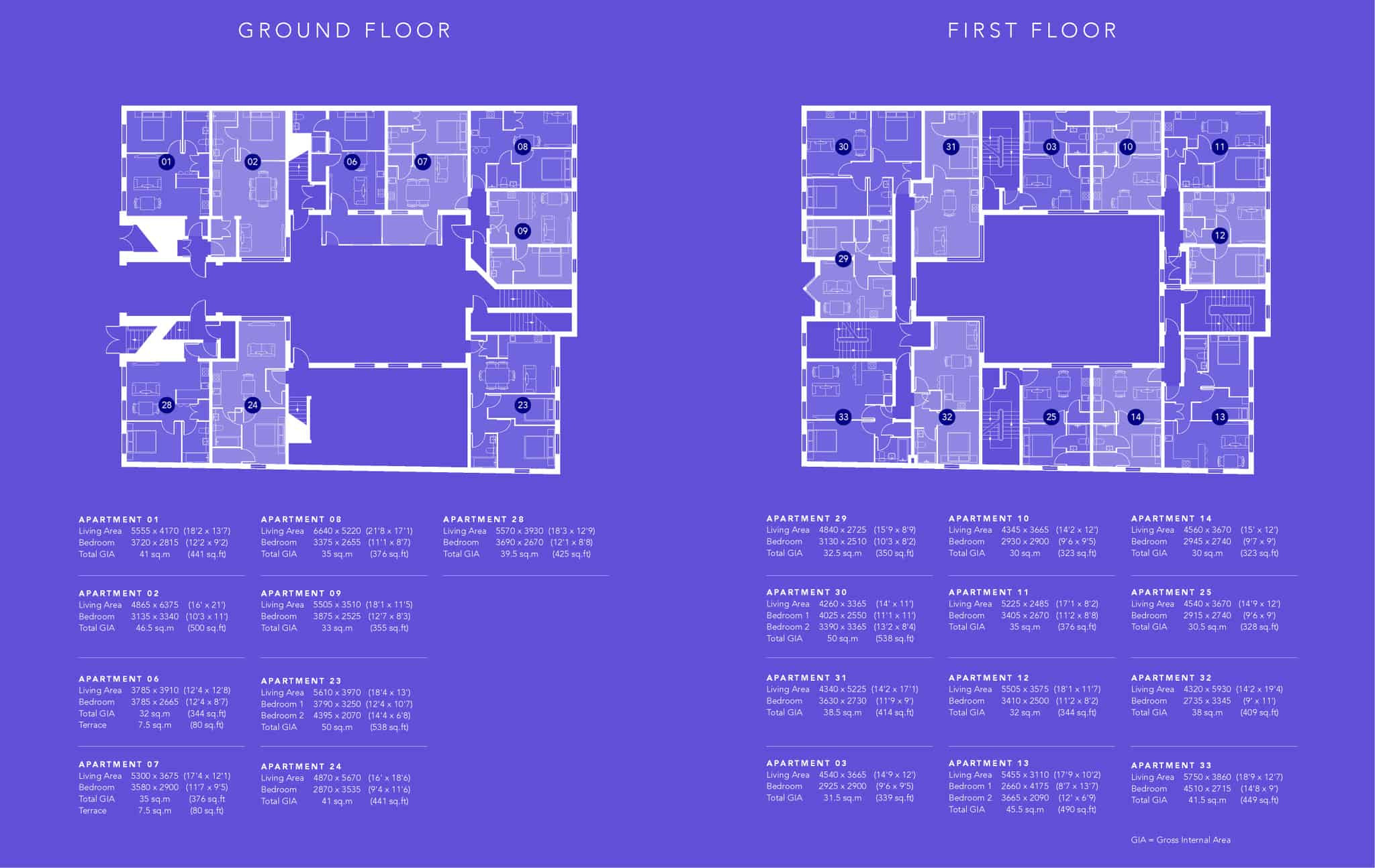 Ocea Saxon Gate Southampton Floorplan Commercial to Residential Property Conversion Apartment