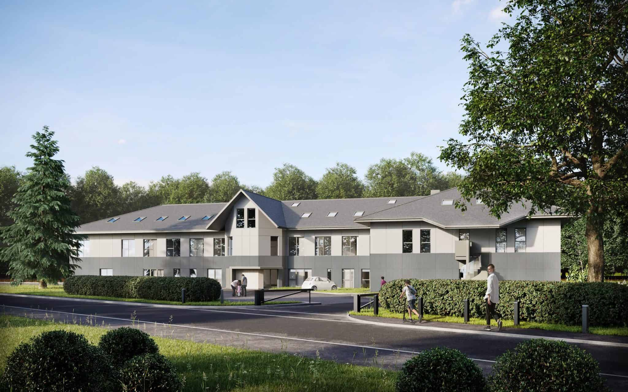 Bagshot Manor: Apartment in Bagshot Surrey | Ocea Commercial to Residential Property Development
