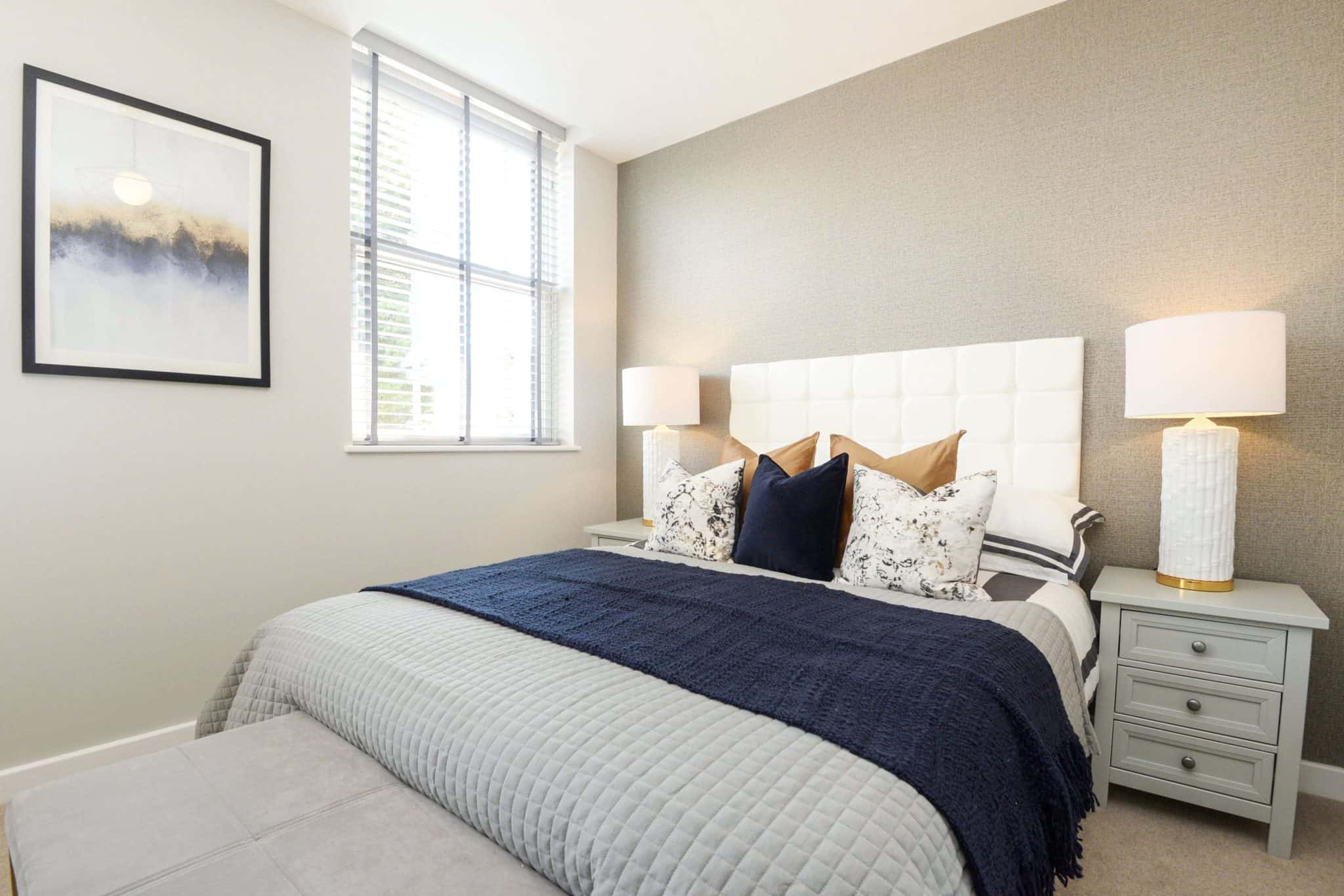 Bedroom Interior Commercial to Residential Property Conversion Apartment