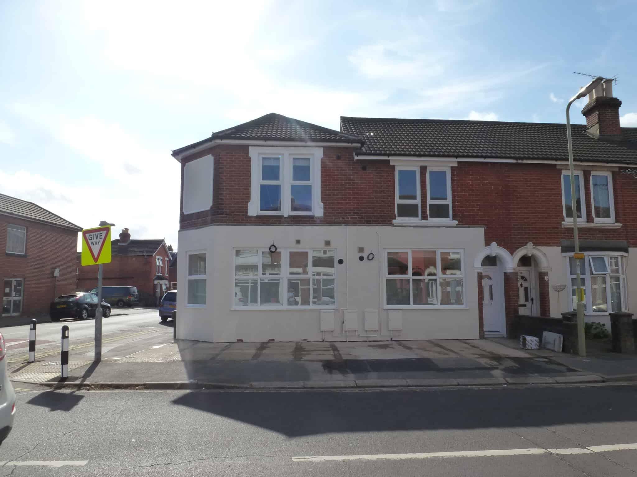 Desborough Road Eastleigh: Ocea Commercial to Residential Property Development