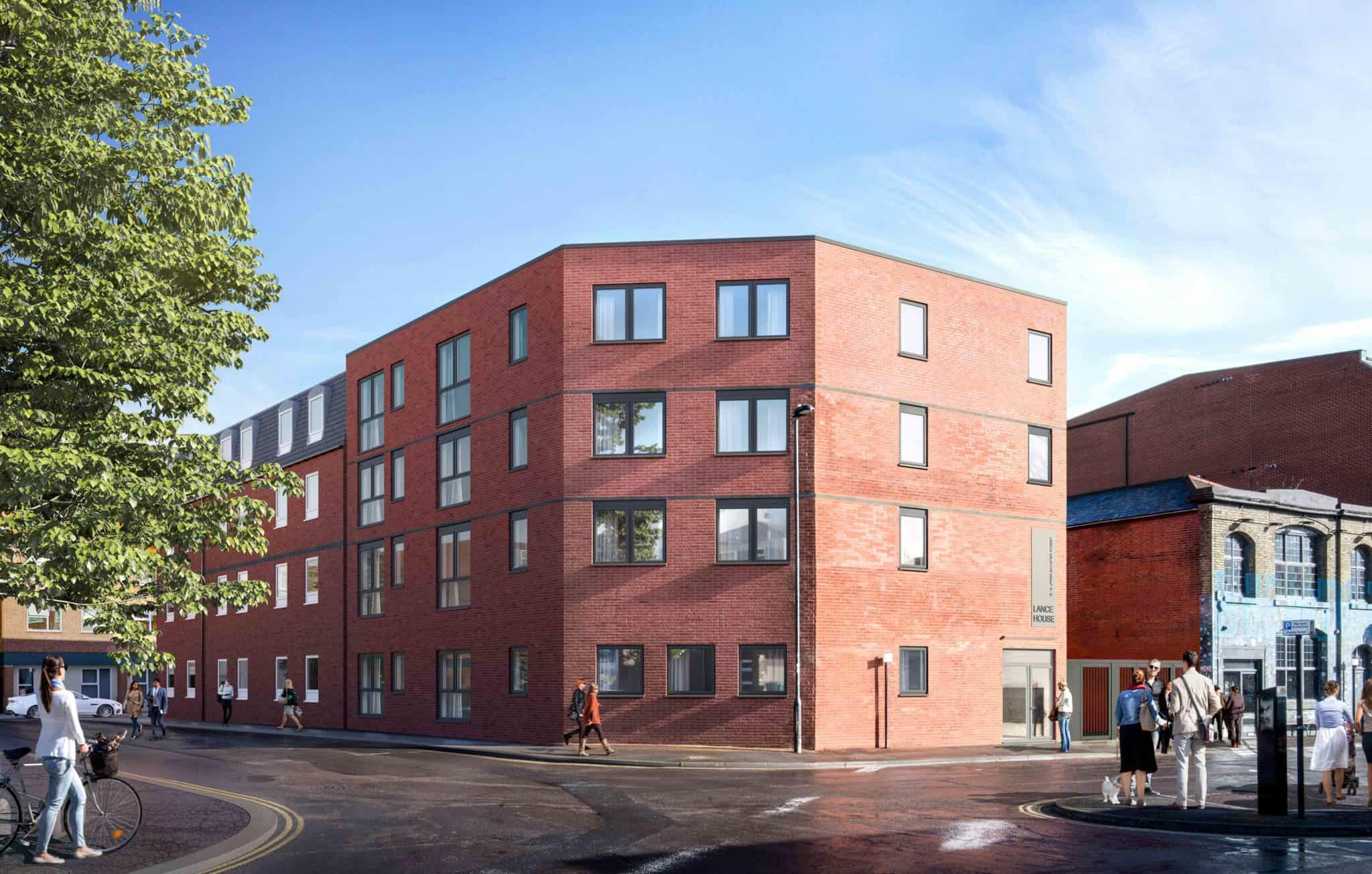 Lance House- Apartments in Southampton | Ocea Commercial to Residential Property Development