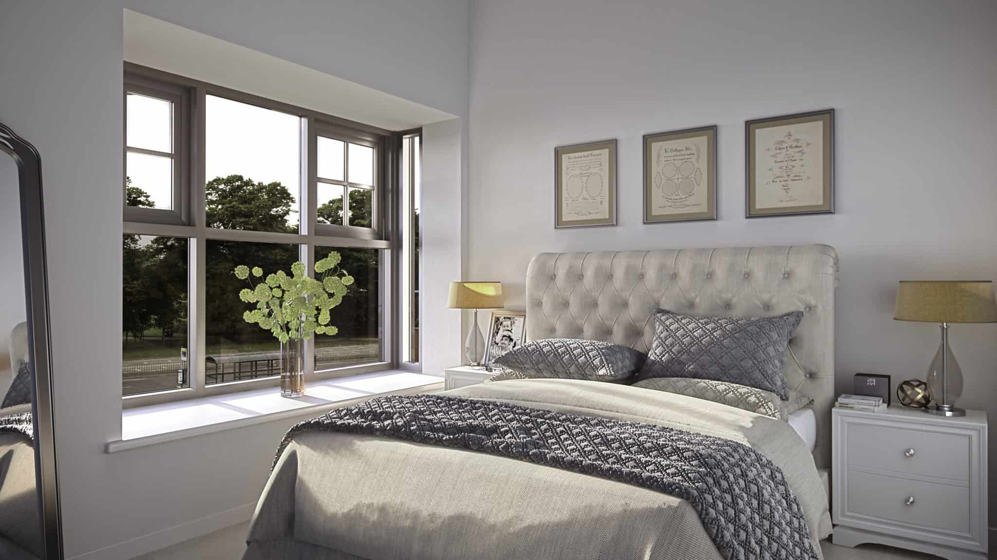 Hampton House Southampton Interior: Commercial to Residential Property Conversion Apartment