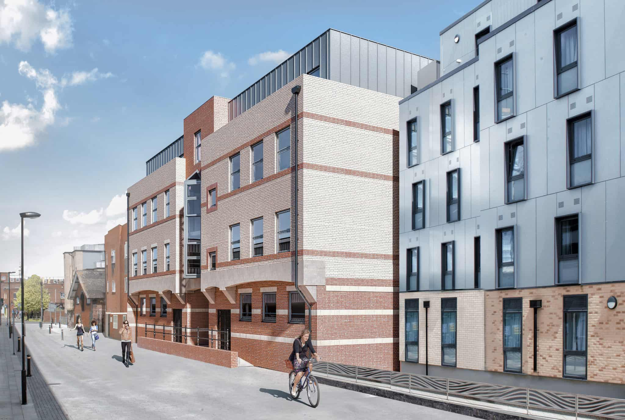 Saxon Gate Apartments in Southampton | Ocea Commercial to Residential Property Development