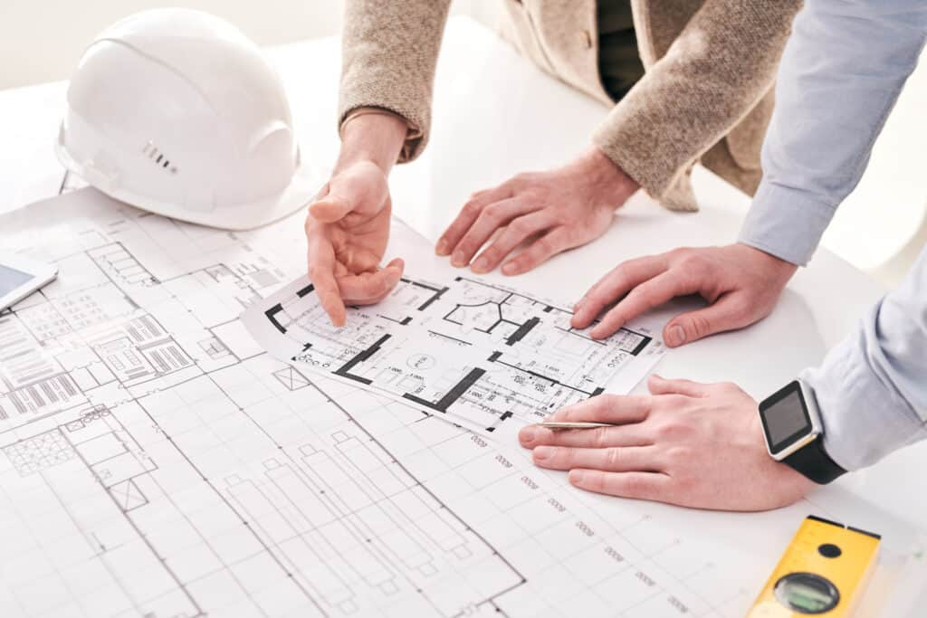 architects working with house plan FS36XFX